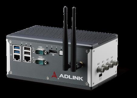 <br />Figure 1. ADLINK's IoT MCM devices come preconfigured with ADLINK Edge™